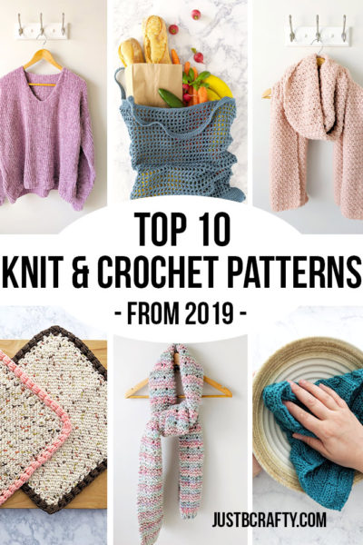 Top 10 Knit & Crochet Patterns from 2019