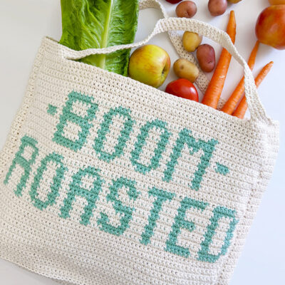 Boom Roasted Market Tote