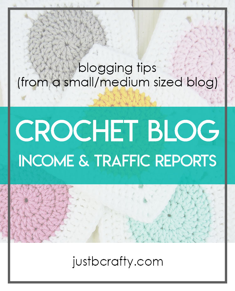 Just Be Crafty Income Reports
