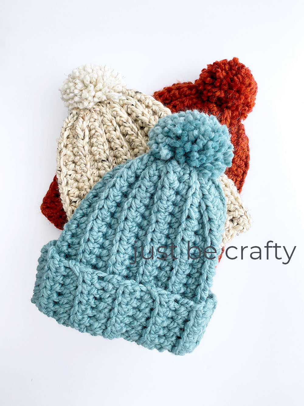 Crochet Chunky Hat Pattern