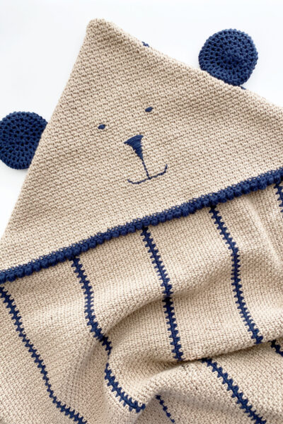 Cuddle Bear Hooded Lovey