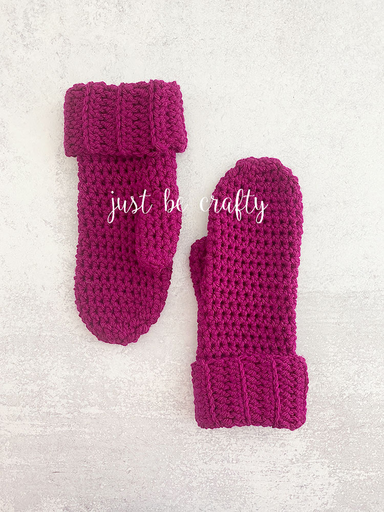 Boysenberry Mittens